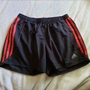 Adidas Response Shorts Black Red